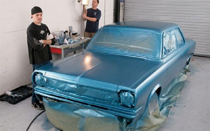 Как перекрасить автомобиль своими руками 32