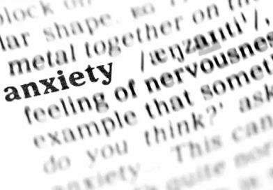 Don't let the thin stream of anxiety grow into a channel that drains all your thoughts away